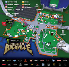 Jacksonville Map Monster Energy Welcome To Rockville Festival Site Expanded Due To