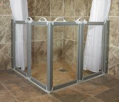 Half Shower Doors Half Height Glass Shower Door Shower Doors