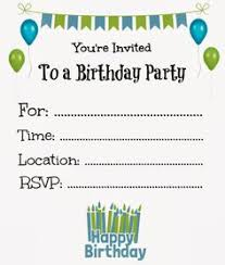 free printable birthday invitations for themesflip
