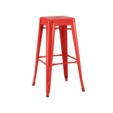 Industrial Metal Bar Stool French Industrial Metal Bar Stools Zin Home
