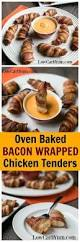 Bacon Main Dishes - bacon wrapped chicken tenders recipe bacon wrapped chicken