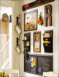 vintage wall decor for kitchen home improvement ideas