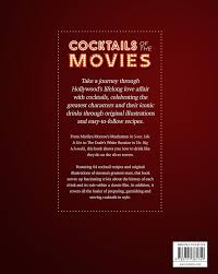 cocktail recipes poster cocktails of the movies an illustrated guide to cinematic