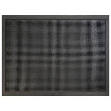 Rubber Home Depot by Multy Home Pin Dot Black 36 In X 48 In Rubber Commercial Door