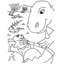 25 free printable unique dinosaur coloring pages