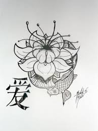 Fleur De Lotus Tattoo by Latest Lotus Tattoo Design On Paper Tattooshunter Com