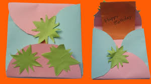 how to make a greeting cards birthday card handmade ideas easy
