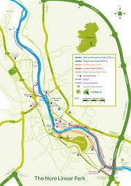Map Of Dublin Ireland Kilkenny City Maps Kilkenny County Maps Walking And Cycle Trails