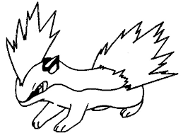 pokemon quilava coloring pages cartoon photos pokemon