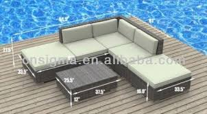 Online Get Cheap Modern Wicker Outdoor Furniture Aliexpresscom - Modern outdoor sofa sets 2