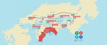 Osaka Train Map Access Info About Kochi Visit Kochi Japan