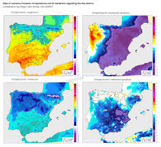 Vigo Spain Map by A Roller Coaster Of Temperatures In South Europe Spain By Diego
