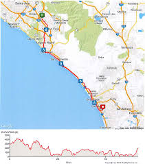 Map Of Camp Pendleton Bike Ms Bay To Bay Tour Route Information National Ms Society