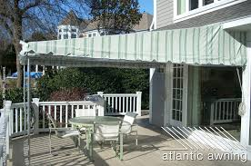Deck Awning Stationary Free Standing Patio U0026 Deck Awnings Atlantic Awning