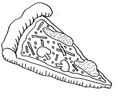 pizza coloring pages cool brmcdigitaldownloads com