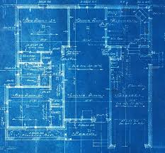 blueprint floor plan plan of jim s house