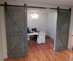 barn door interior glass iq glass recently installed their new