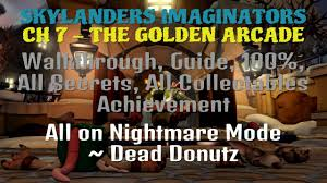 the golden arcade walkthrough guide 100 all secrets all