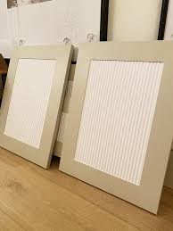 how to make cabinet doors even diy fluted cabinet doors