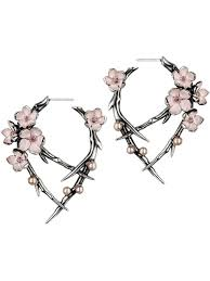 front and back earrings be at fashion s forefront with a pair of edgy front and back