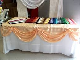 renting tablecloths tablecloth 108 channahon general rental renting tablecloths