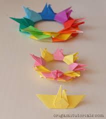 origami crane wreath tutorial u2013 origami tutorials