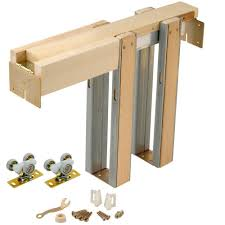 How To Cut Door Frame For Laminate Flooring Builder U0027s Choice 36 In Pocket Door Frame Dfpdi430 The Home Depot