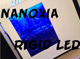rigid led strip lights nanoxia rigid led unboxing review ger hd youtube