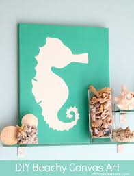 Bathroom Art Ideas Diy Canvas Use A Cutout Of Anything You Like And Place It Onto