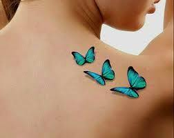 the 25 best butterfly tattoos ideas on black