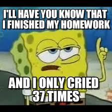 Spongebob Homework Meme - mathpics mathjoke mathmeme pic joke math meme haha funny humor pun