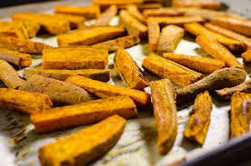 How To Cook A Sweet Potato In The Toaster Oven Curried Baked Sweet Potato Fries V U0026 Gf Veggie Primer