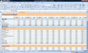 Personal Budget Spreadsheet Template by Budget Planner U2014 Life Coach Manager
