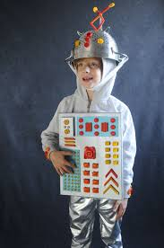 pasta costumes robot project kid