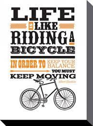 sprüche fahrrad inspiration das leben ist wie fahrrad fahren albert einstein