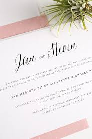Wedding Invitations Rustic Rustic Wedding Invitations In Blush U2013 Wedding Invitations