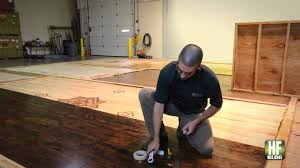 how to do a wood floor finish adhesion test