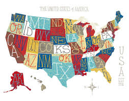 Usa Map Printable by The 10 Most Visited States In The Us 2015 Youtube Map Most Best