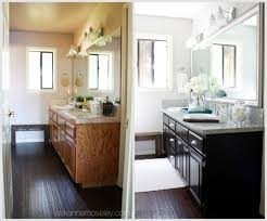 Bathroom Makeovers Before And After Quick  Simple - Simple bathroom makeover