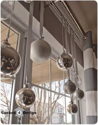 Ideas For Window Decorations At Christmas by Best 25 Hanging Christmas Decorations Ideas On Pinterest
