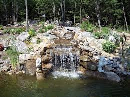 backyard waterfall pictures urellas irrigation u0026 landscaping llc