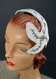 1950s headband vintage 50s headband hat mad hatter vintage 1950s
