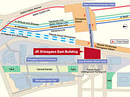 shinagawa station map jr east press releases grand opening of the jr shinagawa east