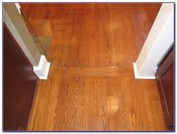 wood floor transition installation flooring home
