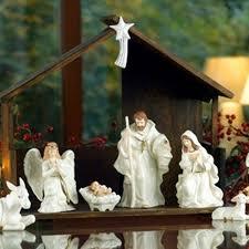 belleek irish belleek nativity set 7249 skellig gift store