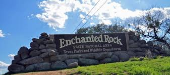 hike enchanted rock park texas hill country
