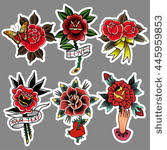 vector images illustrations and cliparts traditional tattoo