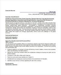 Hr Manager Resume Sample Executive Resume Templates Free Resume Template And Professional
