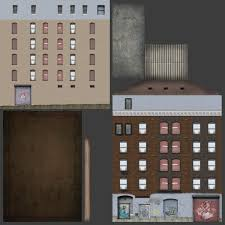 hous getto hous 3d asset cgtrader