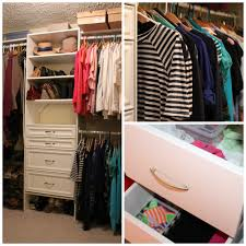 Rubbermaid Closet Drawers Appealing Small Closet Organizer Kits Roselawnlutheran